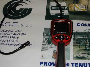 Telecamera per ispezioni interne